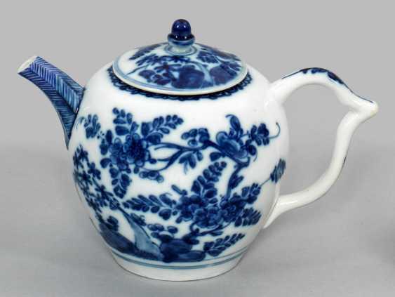 Маленький чайничек с индийской цветочный Декор - фото 1