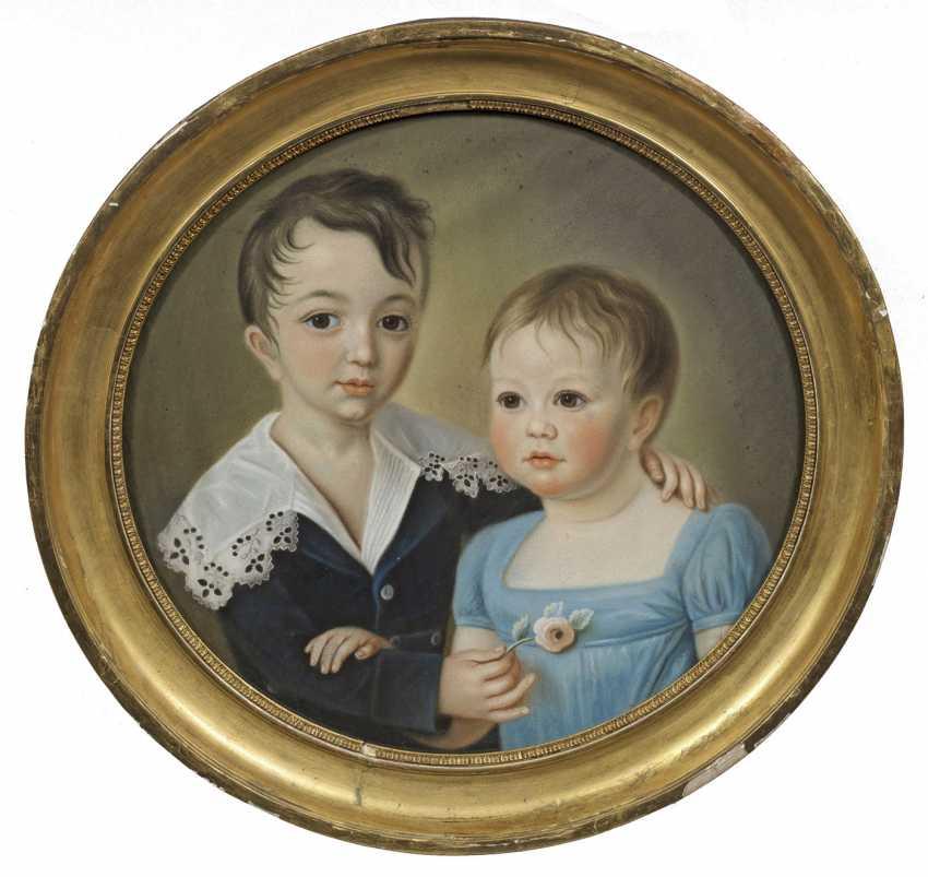 Немецкий портрет художника бидермейер - фото 1