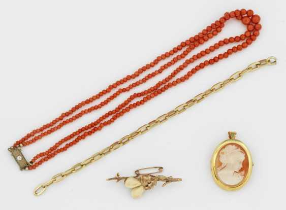 Свертки ювелирные изделия с Grandeln и Коралл - фото 1