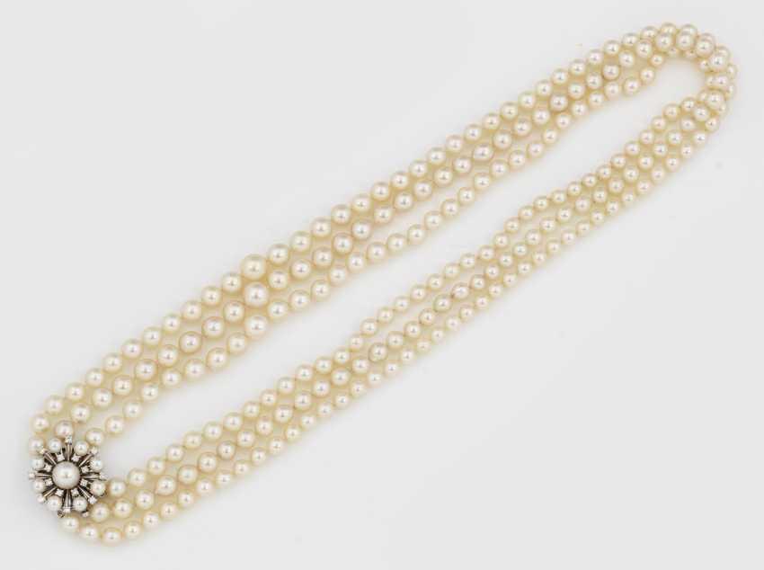 Элегантный Перлы Ожерелье - фото 1