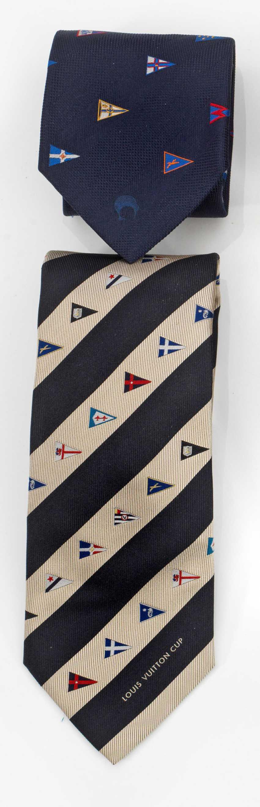 Два галстуки от Louis Vuitton - фото 1