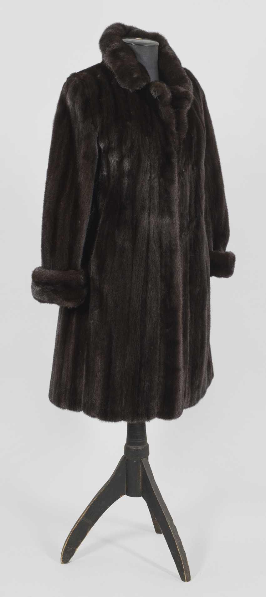 Женская Норковая Шуба - фото 1