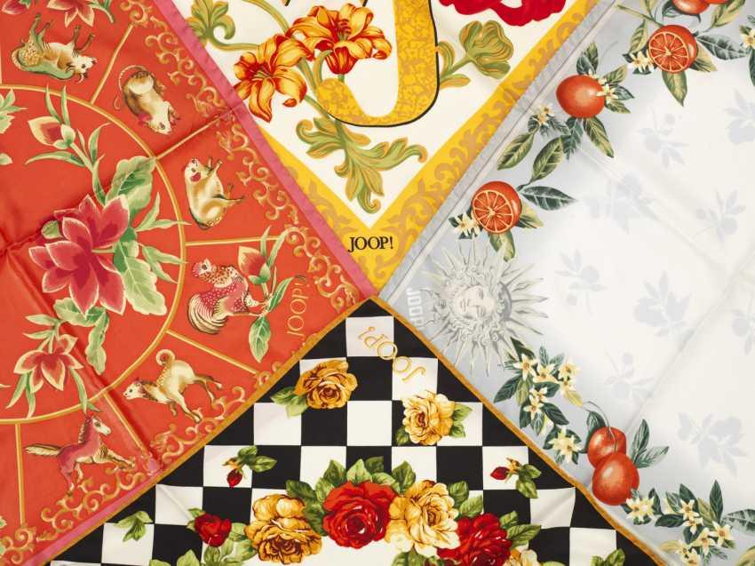 Четыре шелковых платков от JOOP! - фото 1