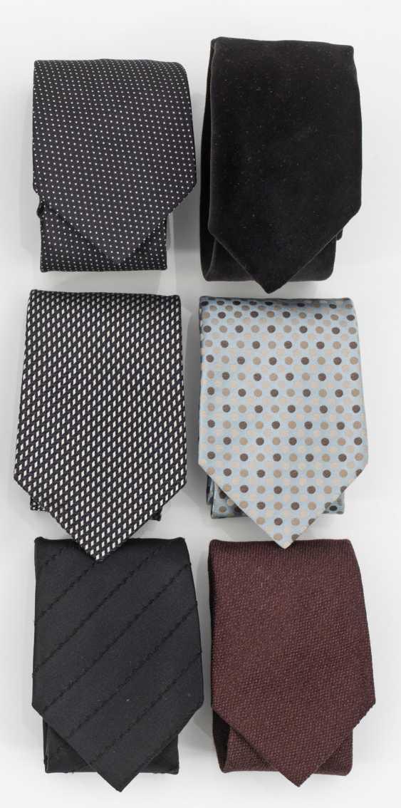 Шесть галстуков от Jil Sander - фото 1