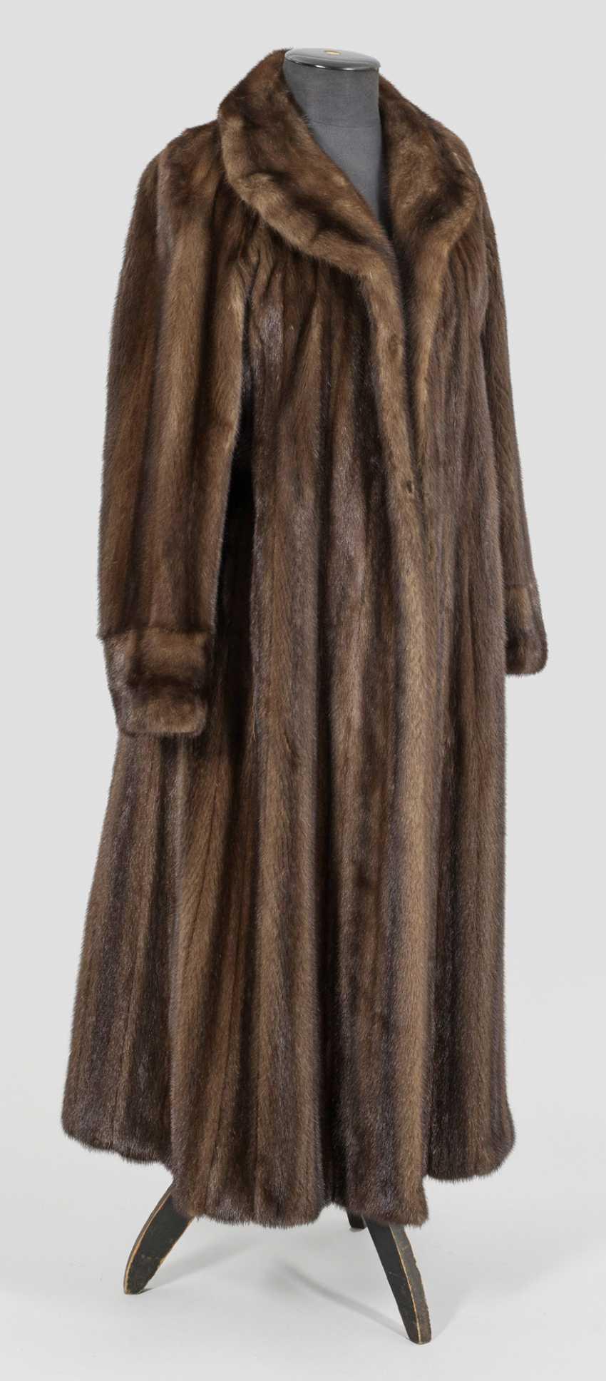 Винтаж женская норковая шуба от Валентино - фото 1