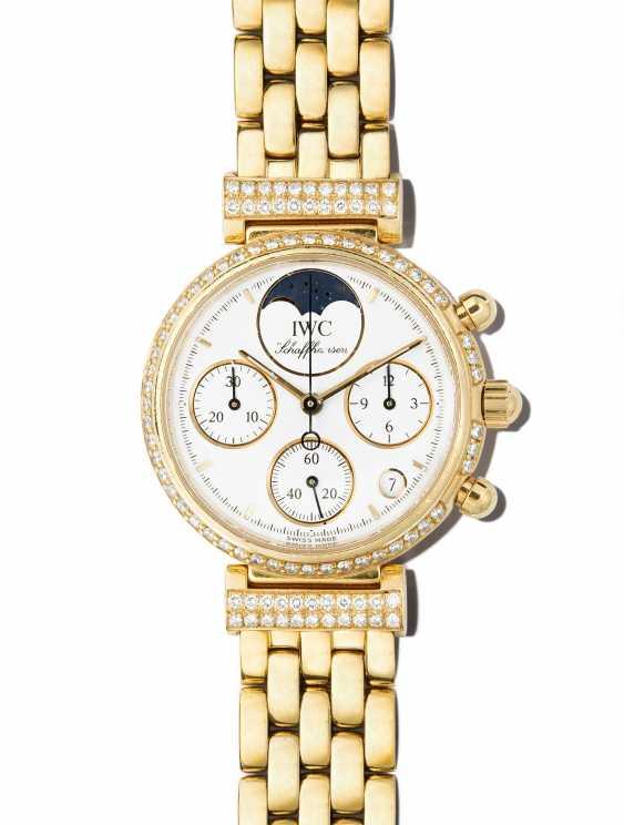 IWC diamond ladies wrist watch