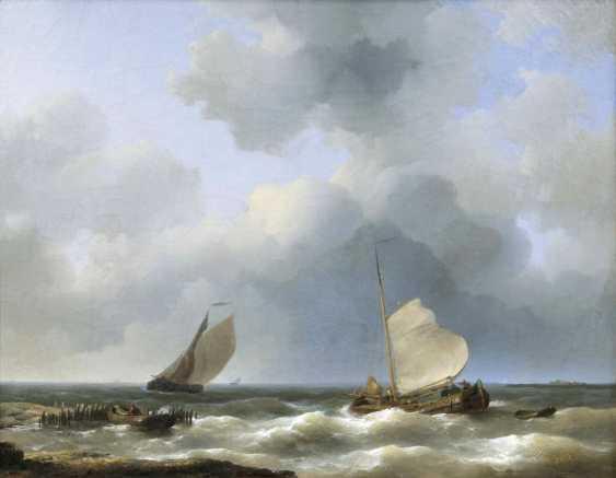 Рыбацкие лодки у берегов - фото 1