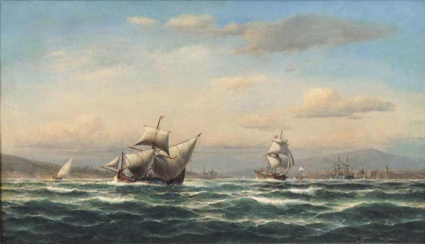Турецкие корабли в Босфоре - фото 1