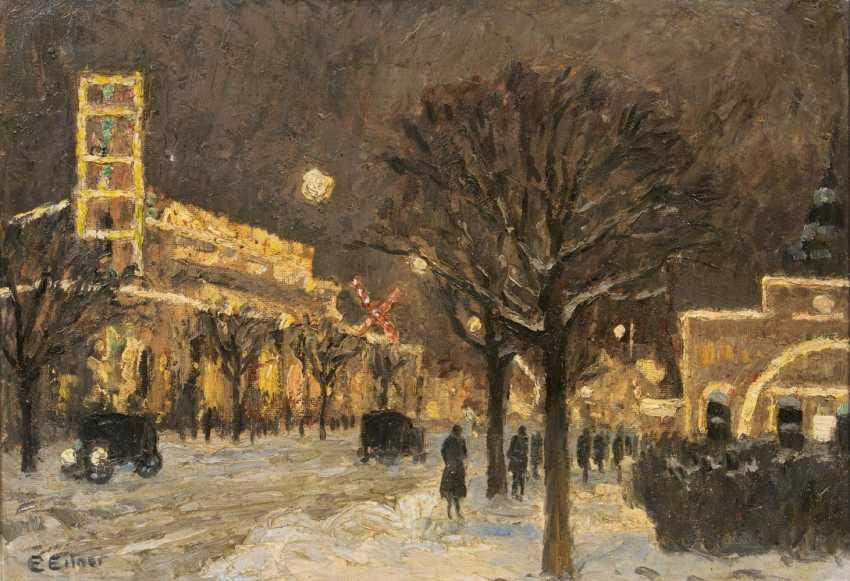 Зимний вечер в Санкт-Паули - фото 1