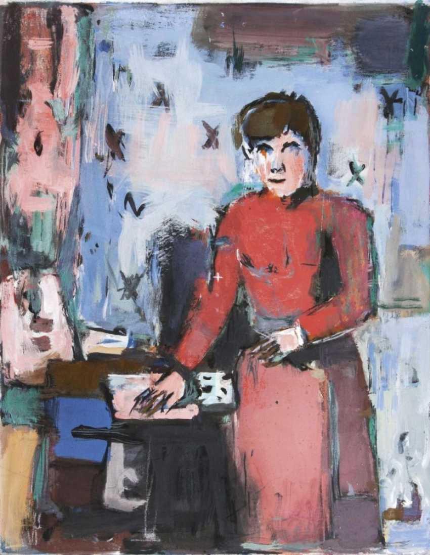 Женщина в Красном - фото 1