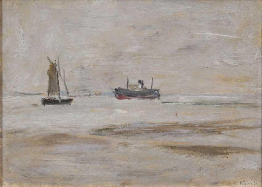 Корабли на Эльбе - фото 1