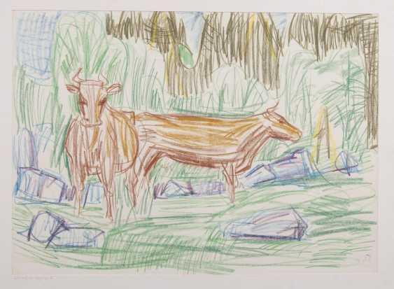 Коров на горных пастбищах III - фото 1