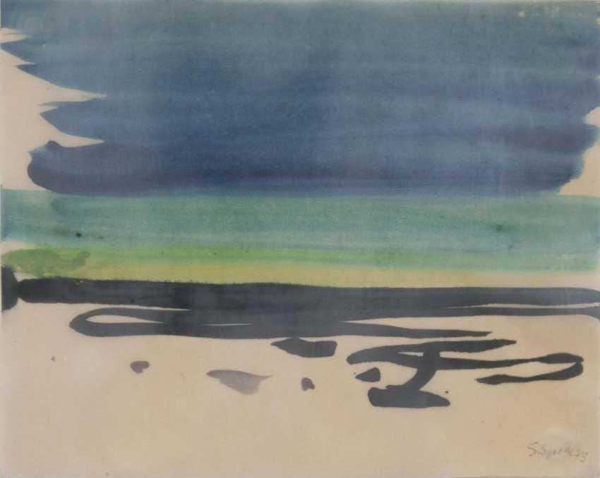 Пляж и небо - фото 1