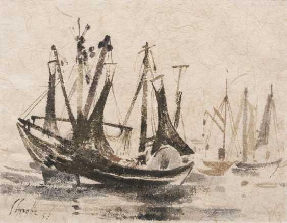 Рыбацкие лодки в Wyk auf Föhr I - фото 1