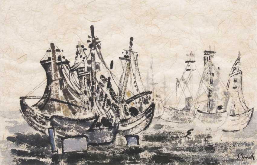 Рыбацкие лодки в Wyk auf Föhr II - фото 1