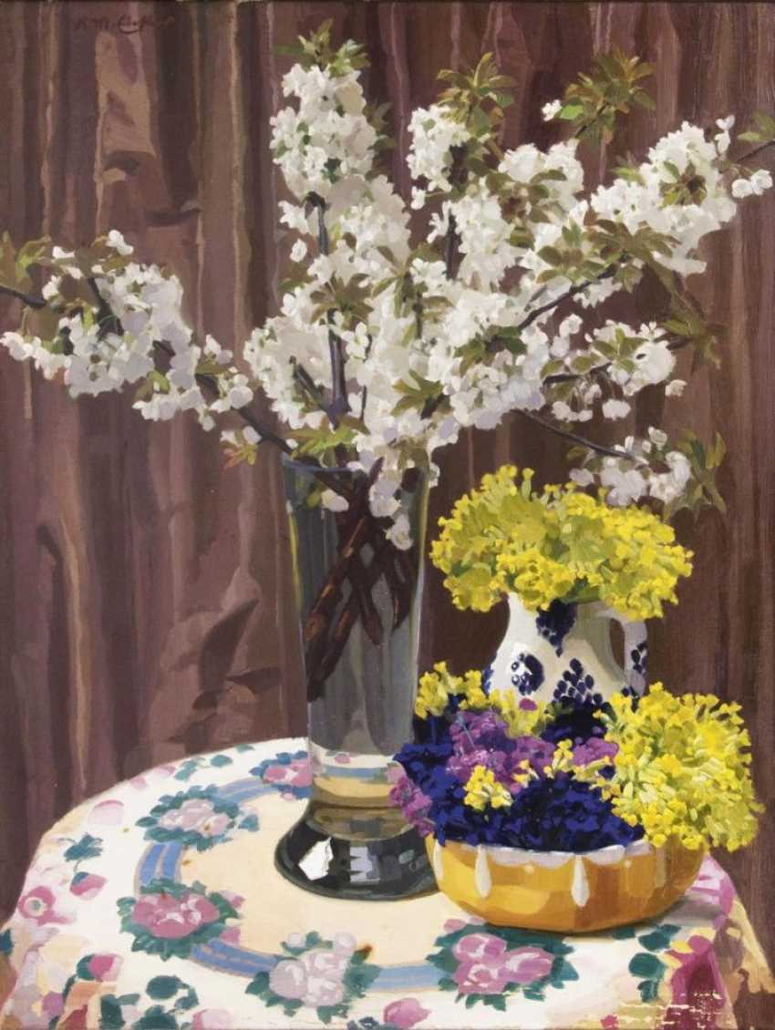 Весенние цветы - фото 1