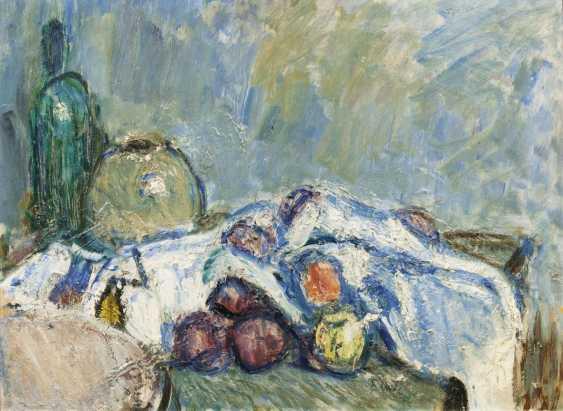 Стол натюрморт с фруктами - фото 1
