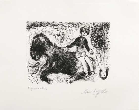 Мальчик на лошади - фото 1