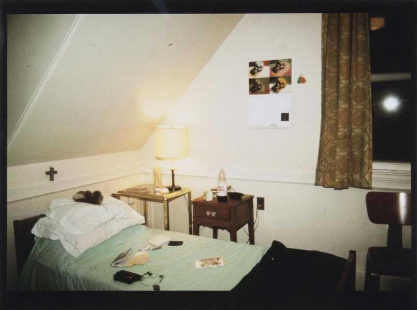 Моя комната в общаге, Белмонт, Массачусетс. 1988 - фото 1