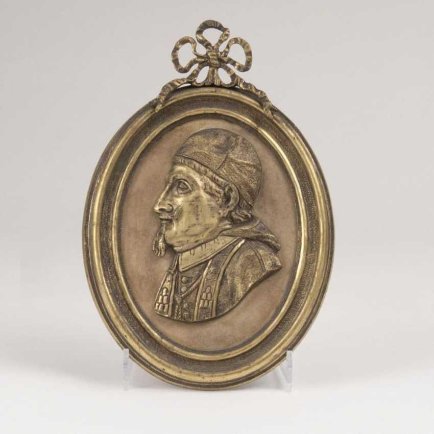 Porträtplakette 'Кардинал Мазарини' - фото 1