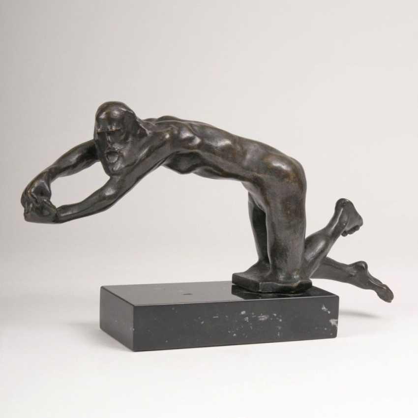 Фигура 'Старика, умоляющий, версии на колени' - фото 1
