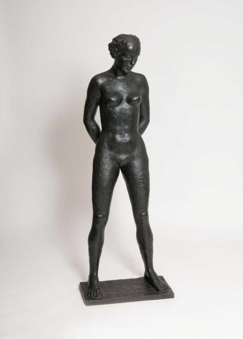Ростовая фигура 'Стоящая обнаженная женщина' (Анни Ондра) - фото 2