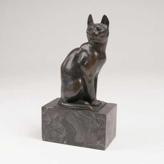 Tierfigur 'Катце Sitzende' - фото 1