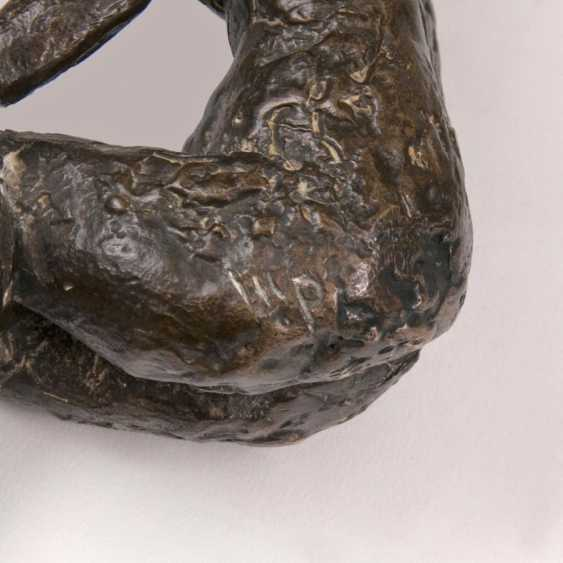 Кляйн фигур 'Sitzender weiblicher акт' - фото 2