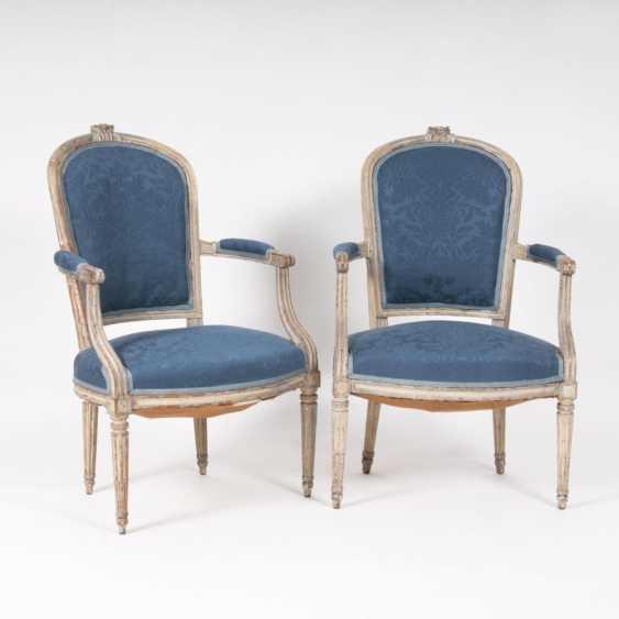 Пара Louis-Seize Кресла - фото 1