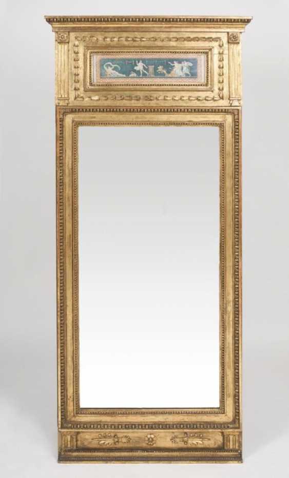 Империя-антикварные зеркала с переливающимся Декорации - фото 1