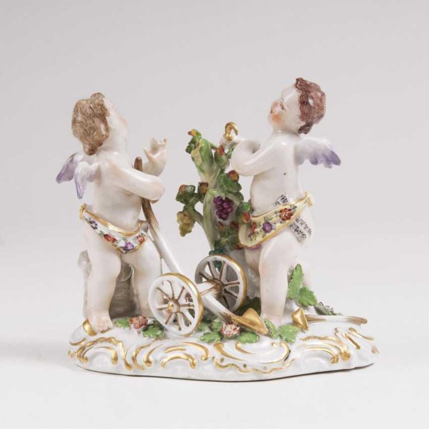 Allegorie Amorettenpaar '- Дер Ackerbau' - фото 1