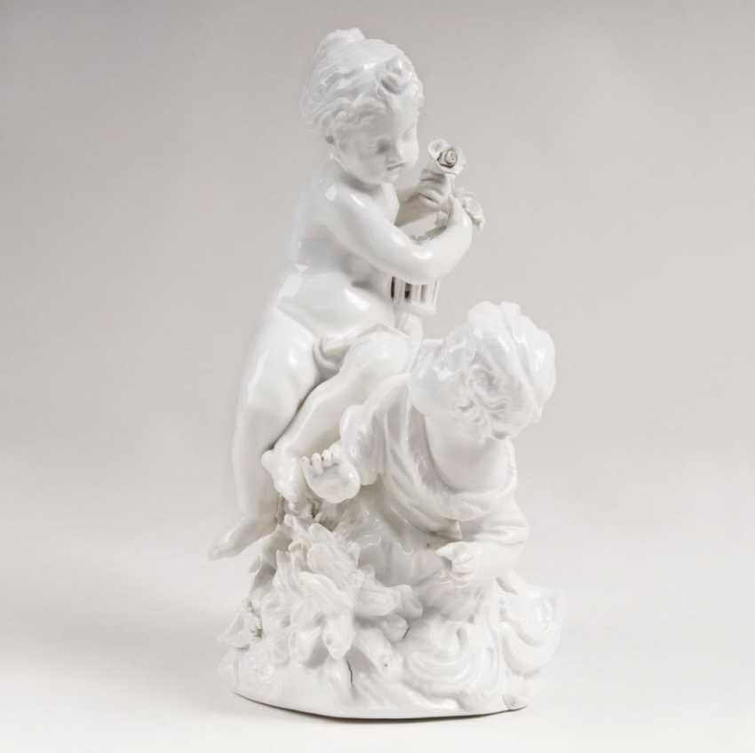 Grand allegorisches Amorettenpaar - photo 1