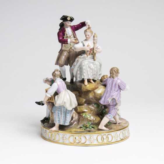 Figurengruppe Гроссе 'Gärtnergruppe-ам-Баум' - фото 1