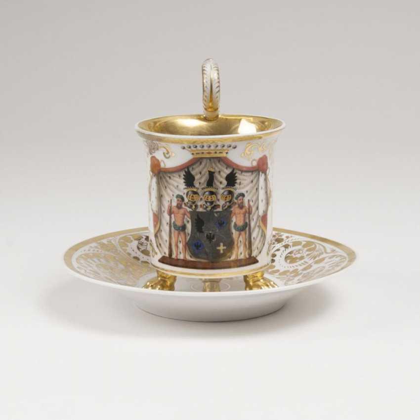 Берлинская чашка герб с разработки мотива - фото 1
