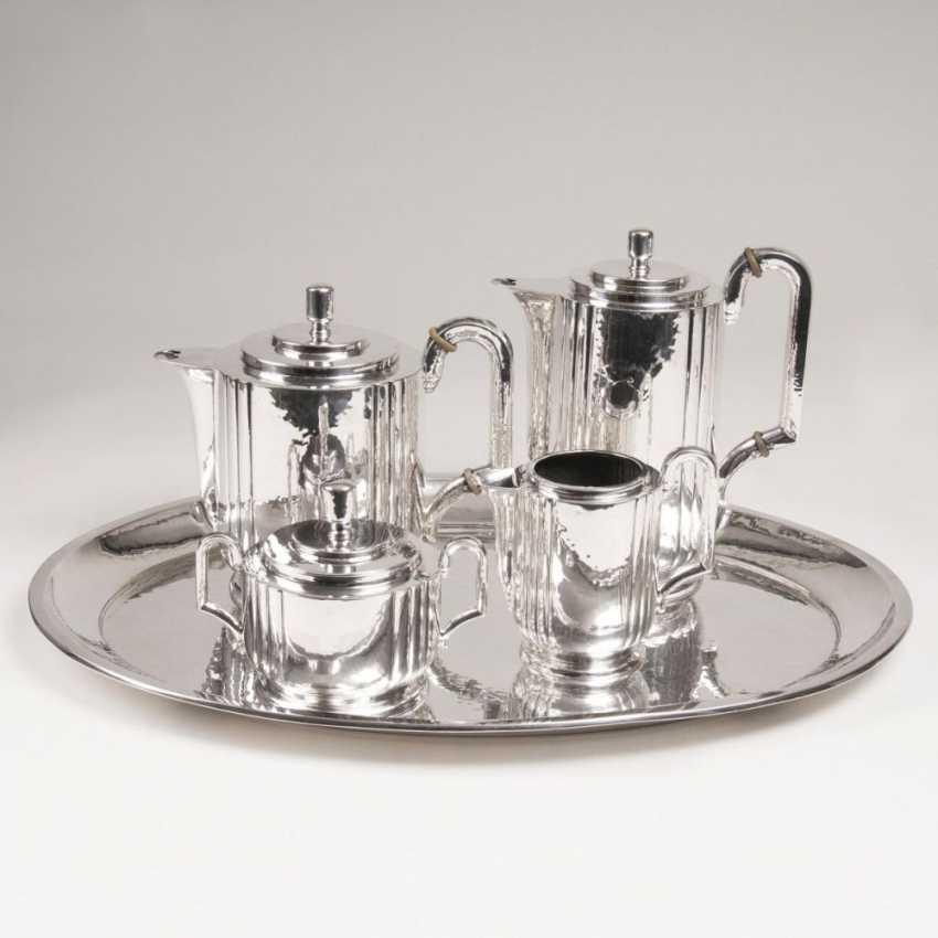 Art-déco Kaffee- und Teeservice auf Tablett - photo 2