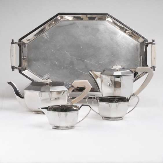 Art Deco coffee and tea service - photo 1
