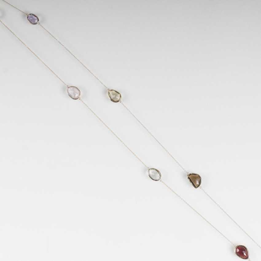 Sautoir с цветным камнем-отделочные - фото 1