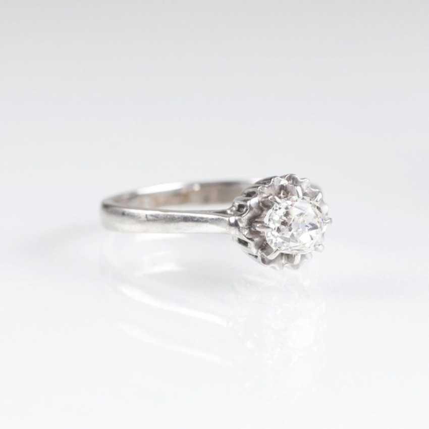 Пасьянс кольцо с altschliff алмаз - фото 2