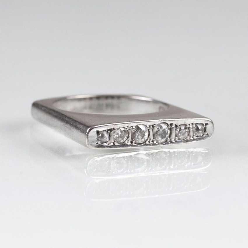 Кольцо с altschliff алмаз-отделочные - фото 1