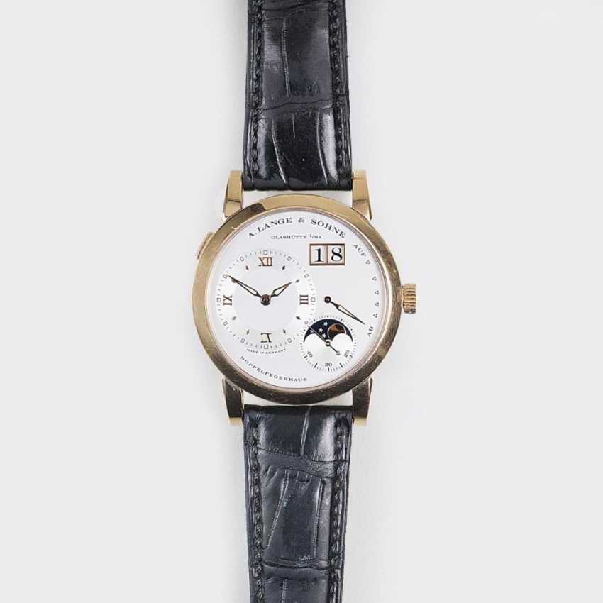 Мужские наручные часы 'Длинные 1' с фазы Луны - фото 1
