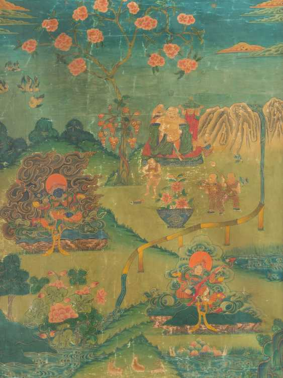 PAINTING: BUDDHIST DEITIES - photo 1