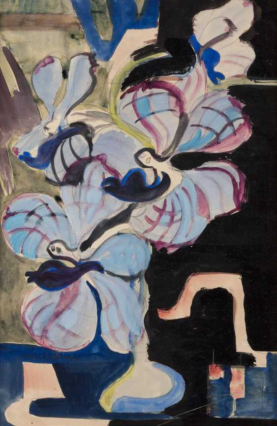 ERNST LUDWIG KIRCHNER 1880 Aschaffenburg - 1938 Frauenkirch in Davos and dance at the end of the dream beings - photo 1