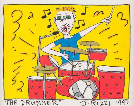 JAMES RIZZI 1950 New York - 2011 ebenda  'THE DRUMMER' - photo 1