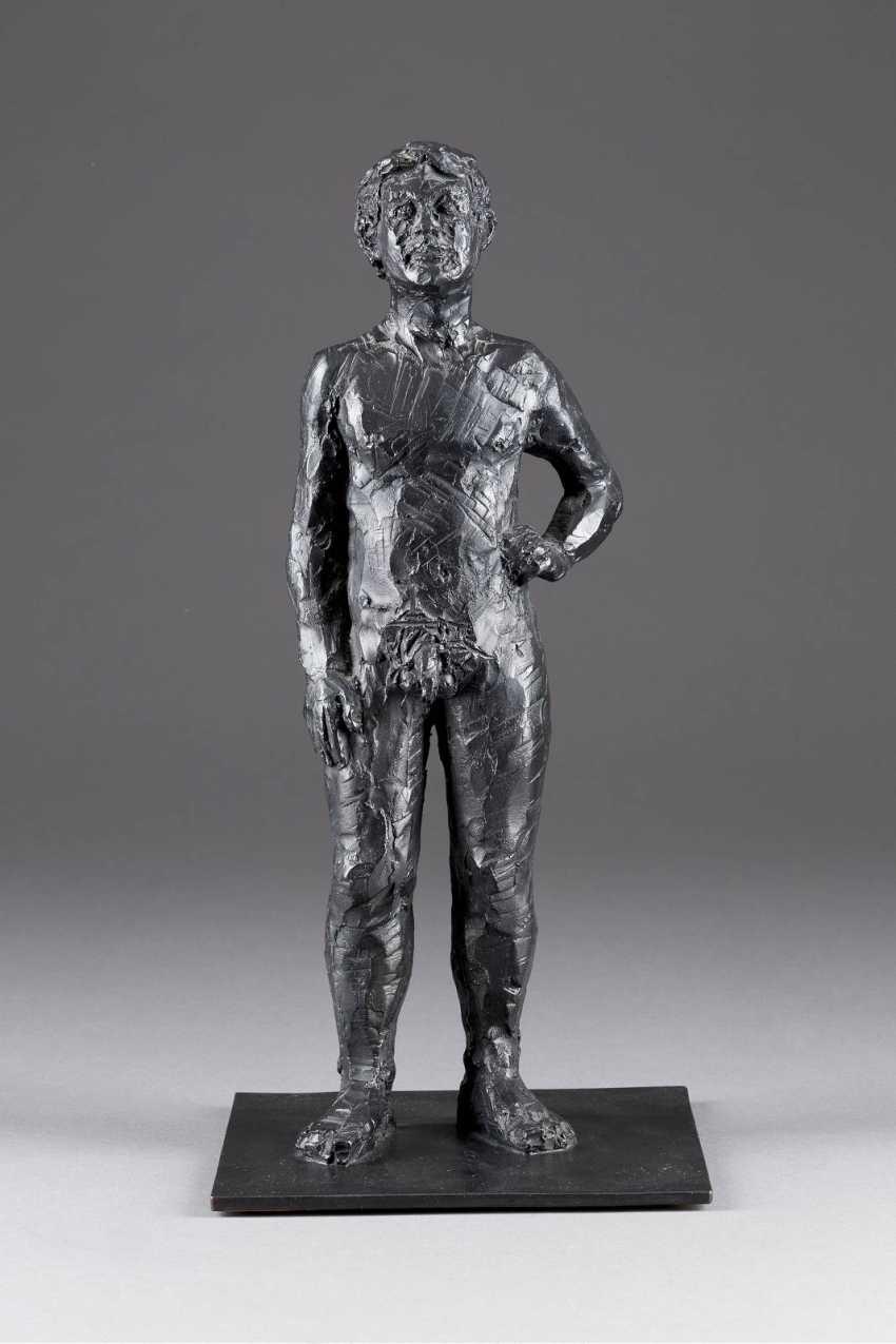 STEPHAN BALKENHOL in 1957, Fritzlar, STANDING male Nude - photo 1