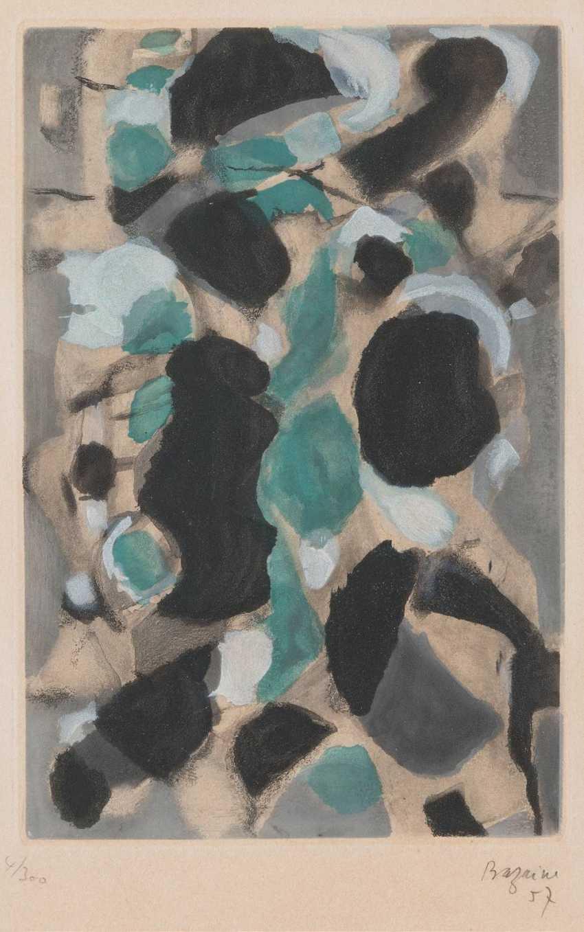 JEAN RENÉ BAZAINE, 1904 Paris - 2001 Clamart OHNE TITEL - photo 1