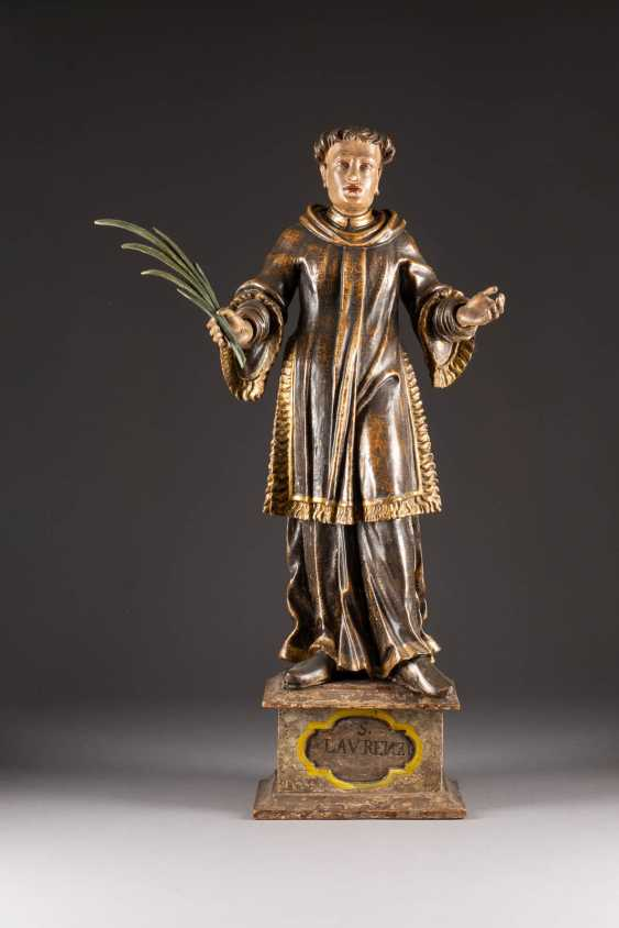 SAINT LAURENCE ON A PEDESTAL - photo 1