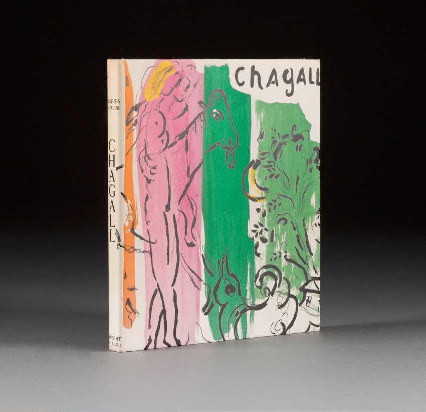 MARC CHAGALL 1887 Witebsk - 1985 Paul de Vence  JACQUES LASSAIGNES 'CHAGALL' - photo 1