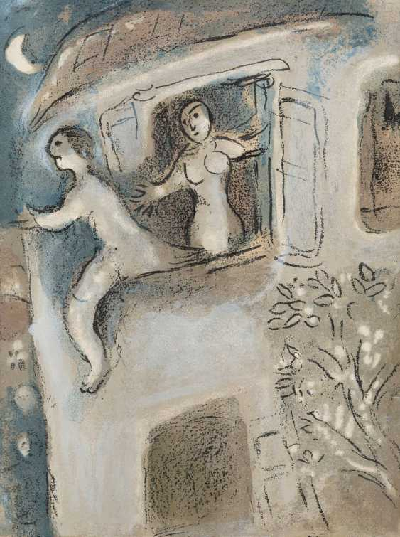 MARC CHAGALL 1887 Witebsk - 1985 Paul-de-Vence, SCHLAGER-in-exile magazine FROM THE CAPTAIN POUR LA BIBLE' (1960) - photo 2