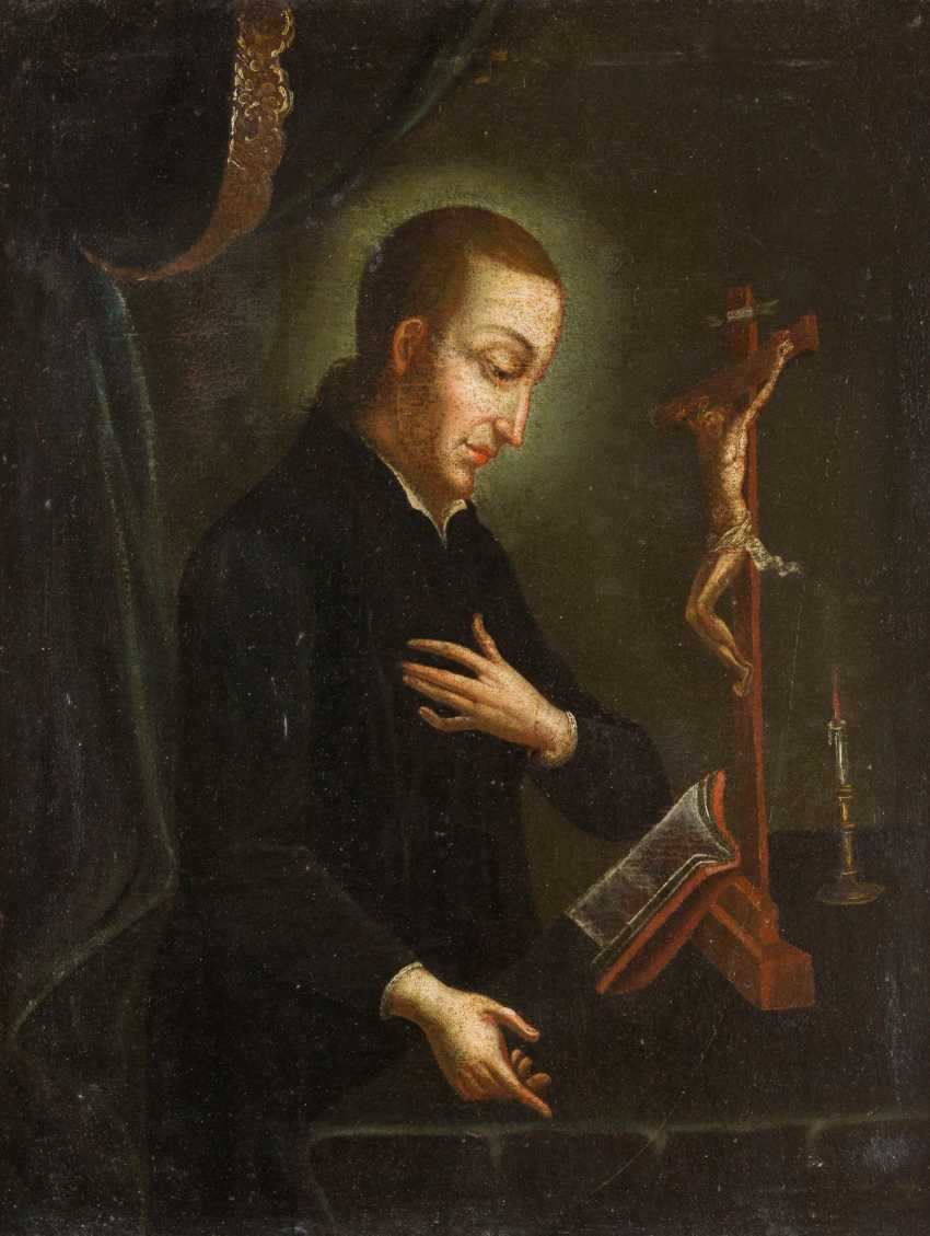 SAINT ALOISIUS OF GONZAGA (1568-1591) IN THE PRAYER ROOM? - photo 1