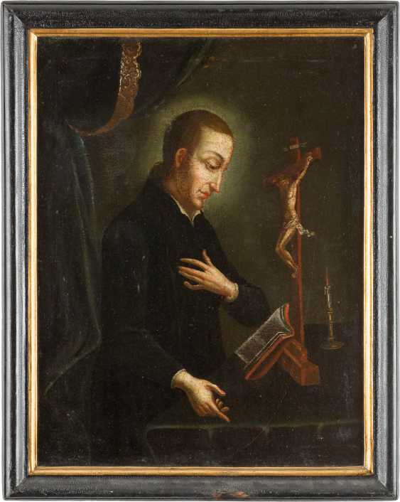 SAINT ALOISIUS OF GONZAGA (1568-1591) IN THE PRAYER ROOM? - photo 2